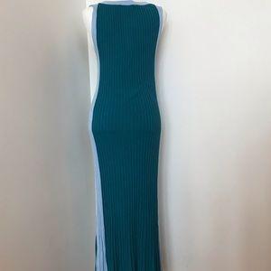 Lulu's Dresses - NWT Lulu's teal maxi dress